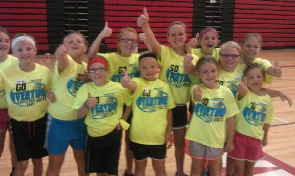 These girls give a big thumbs up to basketball camp. Come join us! http://bvontvetc.com/category/basketball-camps/