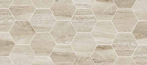 Forest 16 Quot X14 Quot Hexagon Almond Special Order Bv Tile