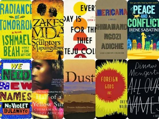 2014 books collage