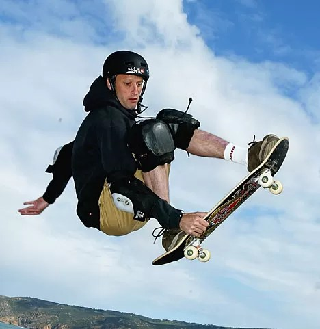 Tony Hawk is a skating legend, and his first board is headed to the Smithsonian.