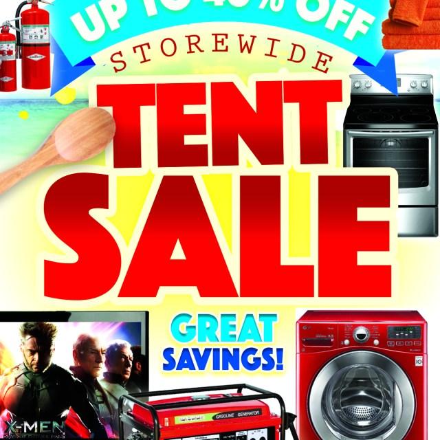 Bwf Tent Sale Flyer
