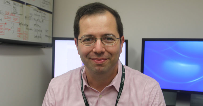 Dr. Sandro Santagata studies an ancient process for protecting cells from high temperatures.