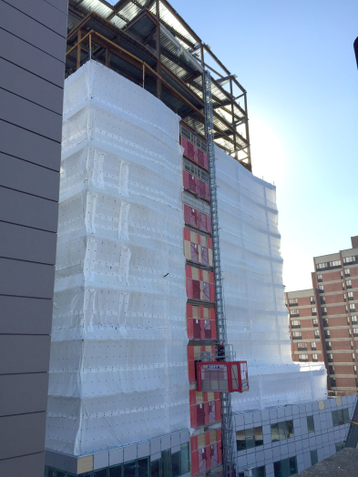 The BBF has reached its full size at 11 floors and 620,000 square feet
