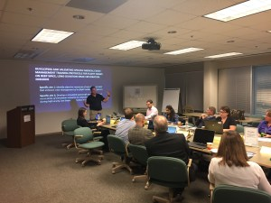 Experts participated in a two-day meeting at Lunar and Planetary Institute, Houston where they brainstormed on key non-technical skills, possible medical emergencies to train and the challenges of space context through an iterative process that included rating exercises, group discussions and sorting activities.
