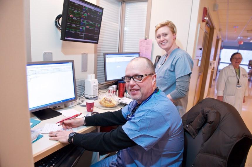 BRIGHAM AND WOMEN'S HOSPITAL ESSENCE OF NURSING APPRECIATION MONTH NURSING STAFF AT WORK