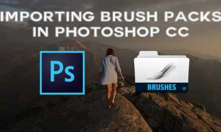 How To Import Brush Packs Into Photoshop CC