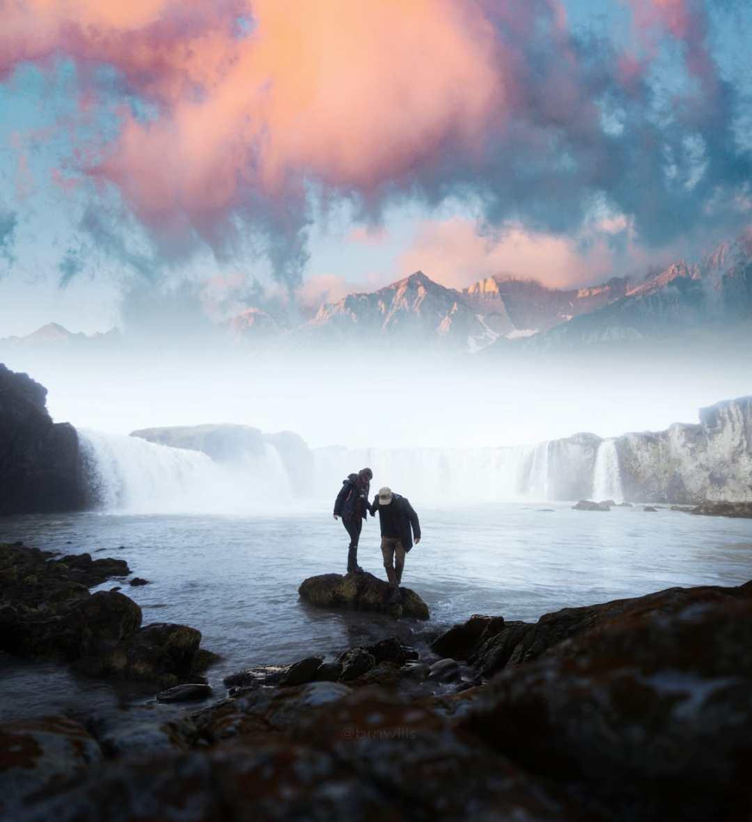 WaterfallSunset_IGWATERMARK
