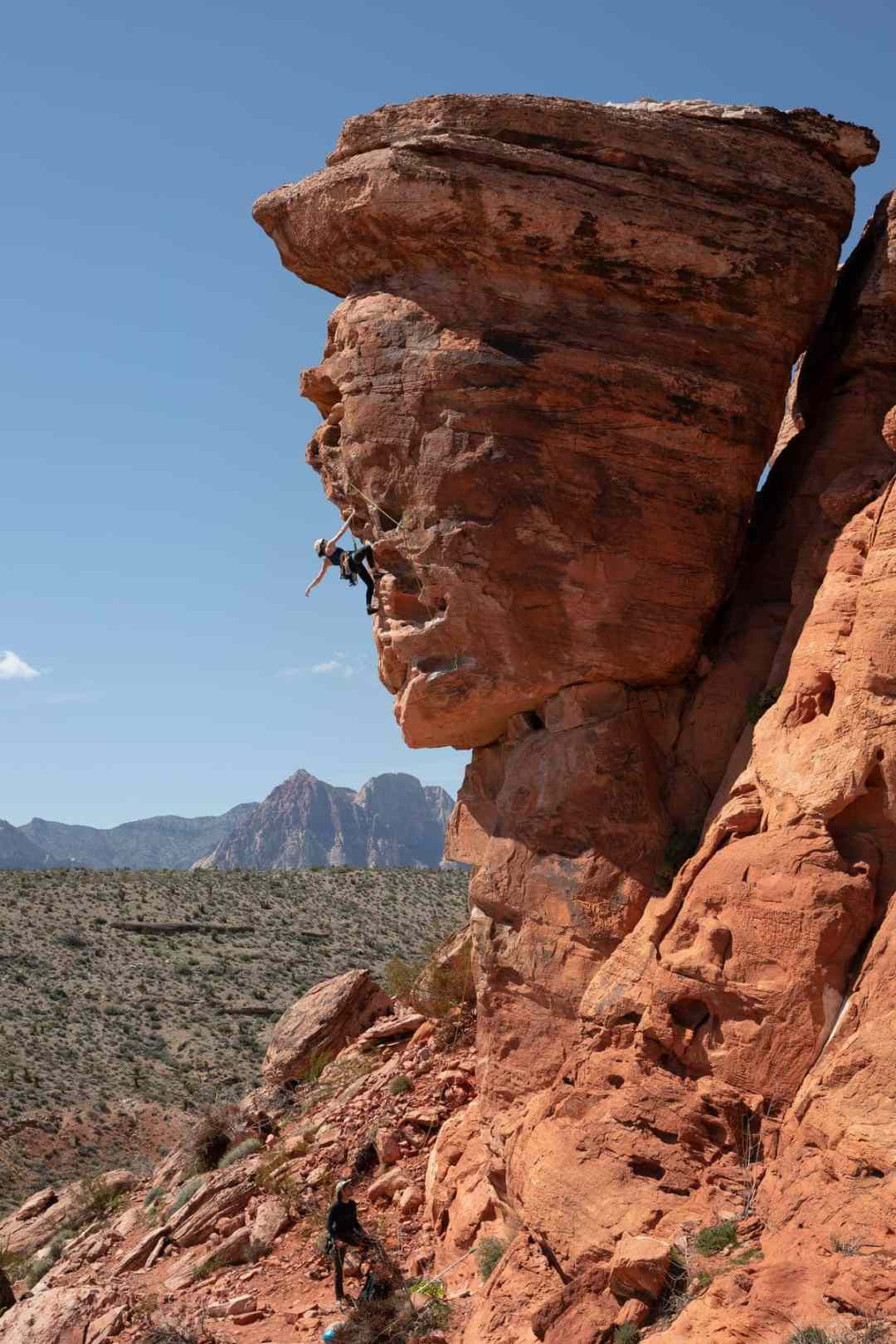 Red Rock Canyon sport climbing