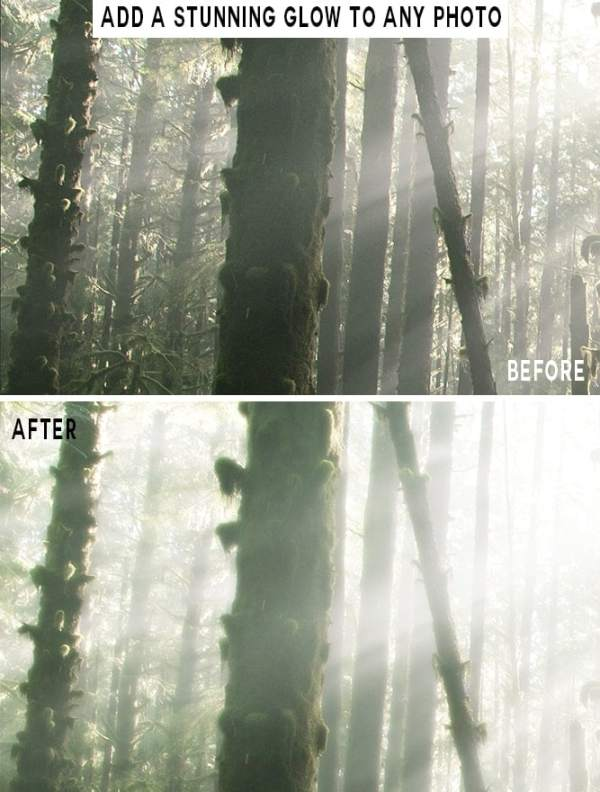 orton effect photoshop action