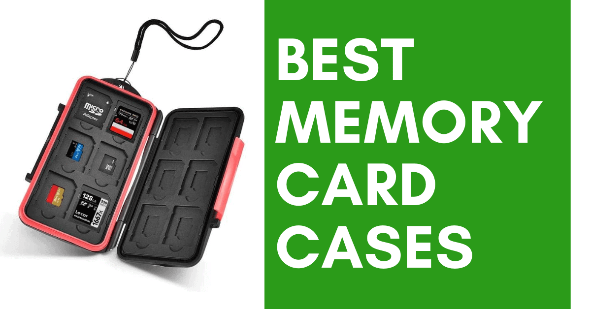 10 Best SD Card Cases In 2020 | Memory Card Storage
