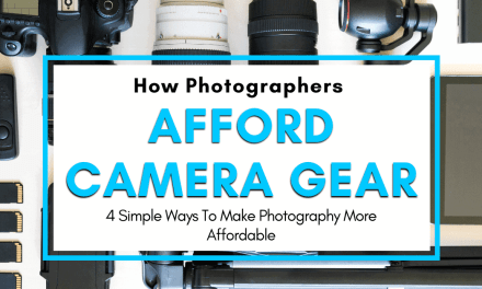 How Do Photographers Afford Their Equipment?