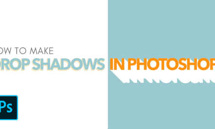 How To Add A Drop Shadow To Text And Images In Photoshop