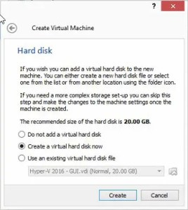 How to install a VM in VirtualBox.
