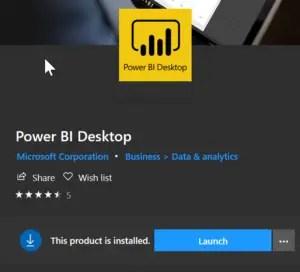 Power BI Desktop Unable to open document - Install latest version.