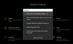 How to disable Windows 10 feedback notification.