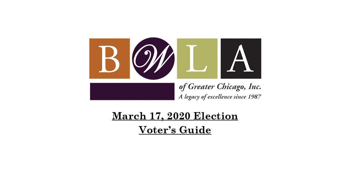 BWLA 2020 Voter's Guide