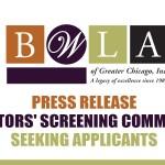 Senators' Screening Committee seeking Applicants