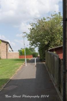 Wider walkways
