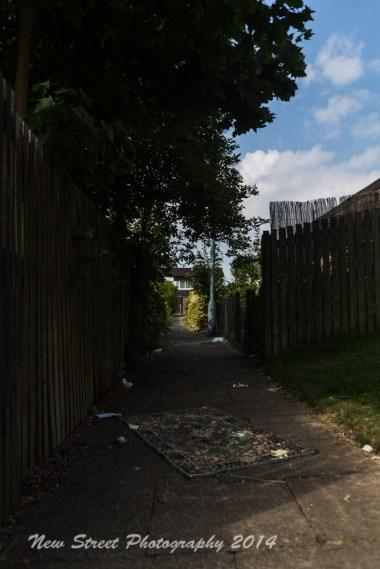 Closed of alleyways