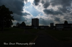 Instance of dark sky