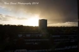 Sunset progession