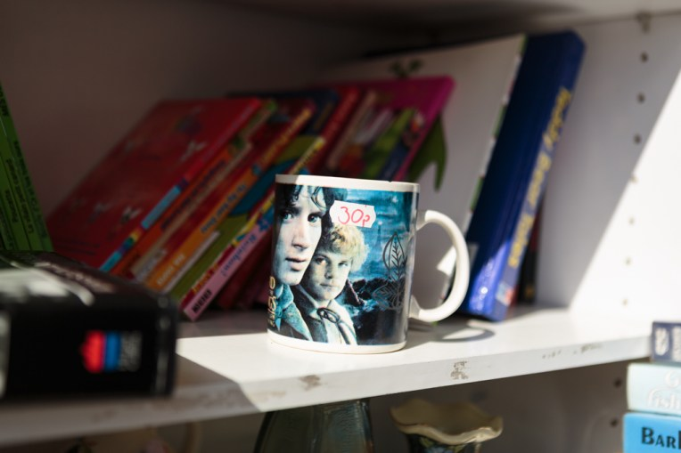 Charity shop cup by Birmingham photographer Barry Robinson