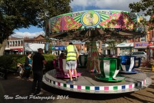 The tea cup ride by Birmingham photographer Barry Robinson