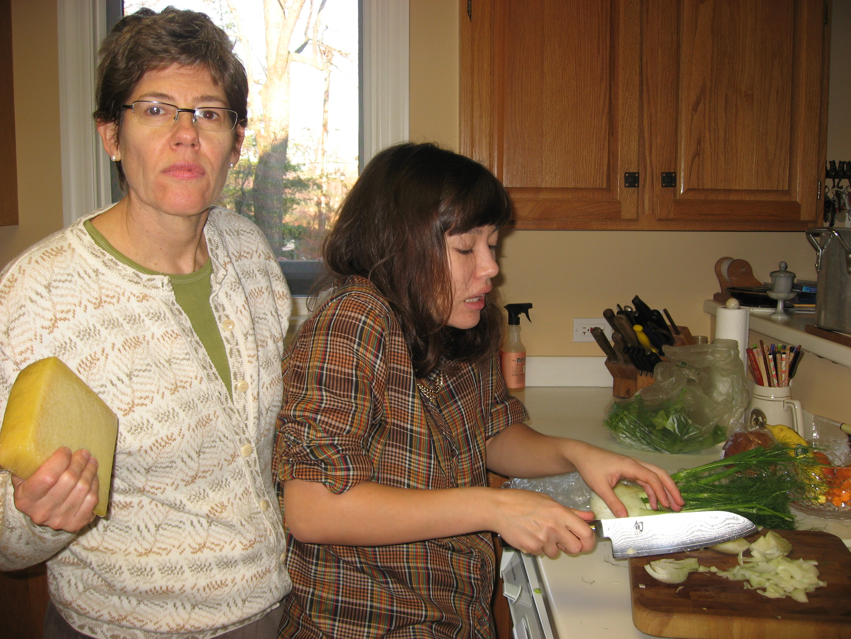Barbara and daughter