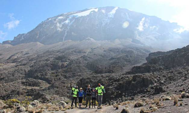 Machame Route Climbing, 6 Days