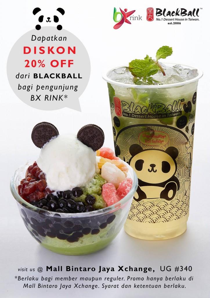 Promo Diskon BlackBall BX Rink