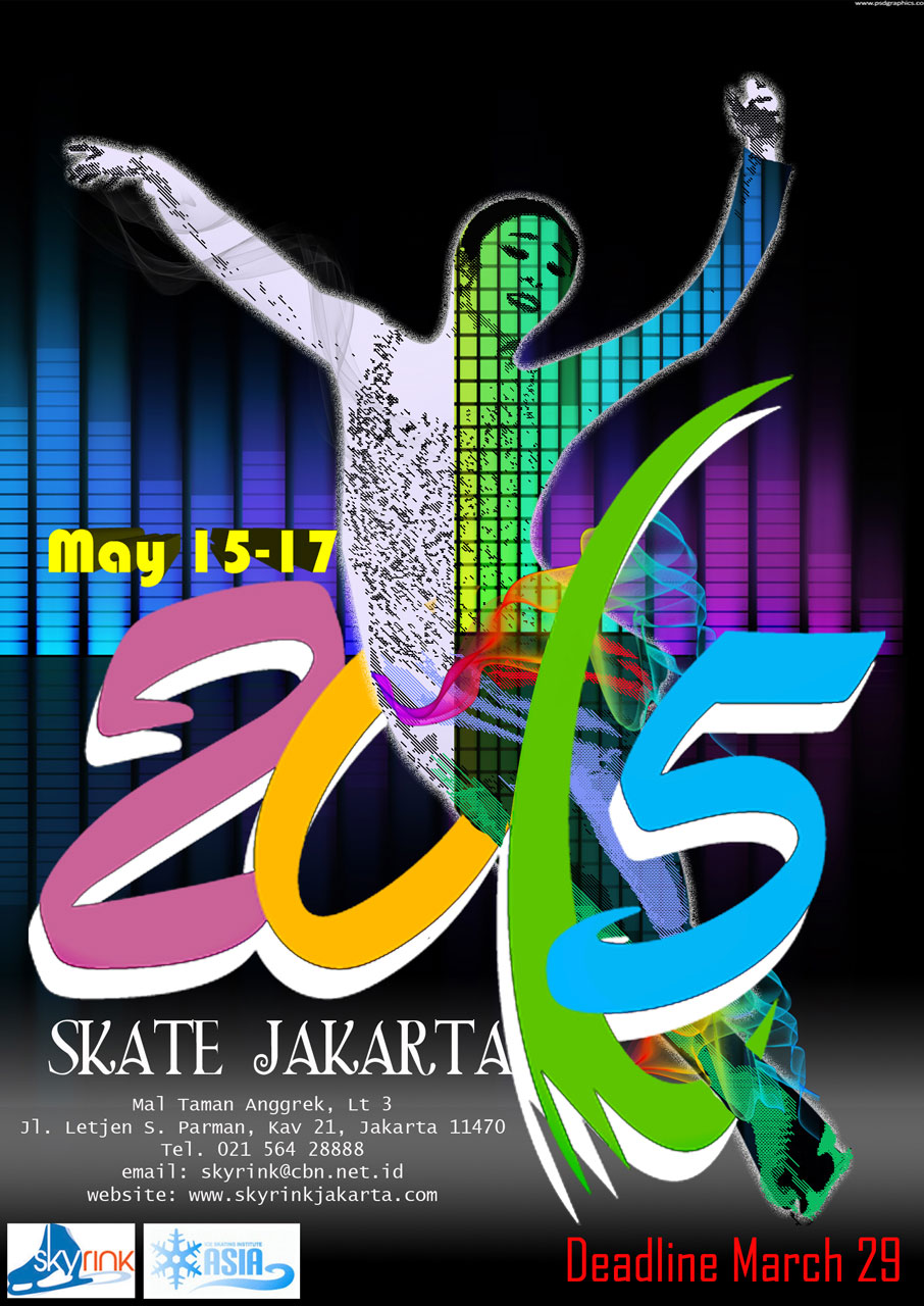Roller skating rink jakarta - Skate Jakarta 2015 Will Be Held On May 15 17 2015 At Sky Rink Jakarta 20m X 60m Please Submit Your Entries Before March 29 2015 Double Fees Will Apply