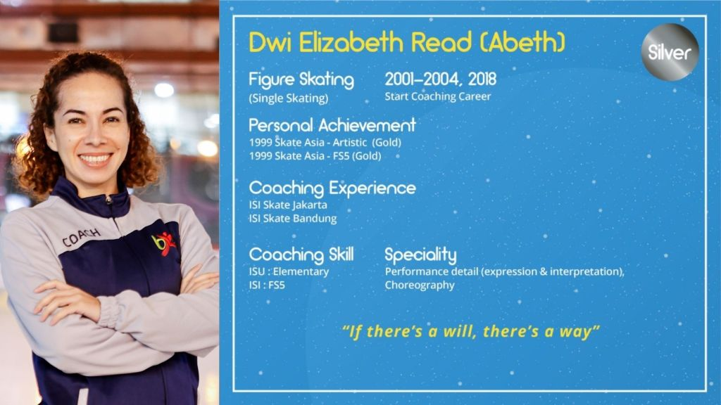 Dwi Elizabeth Read Abeth, BX Rink Ice Skating Coach