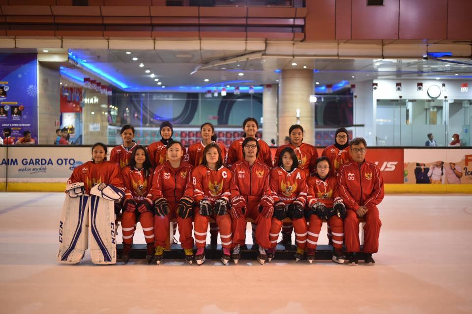 Tim Hoki Es Indonesia U16 Girls Southeast Asia Youth Cup 2019
