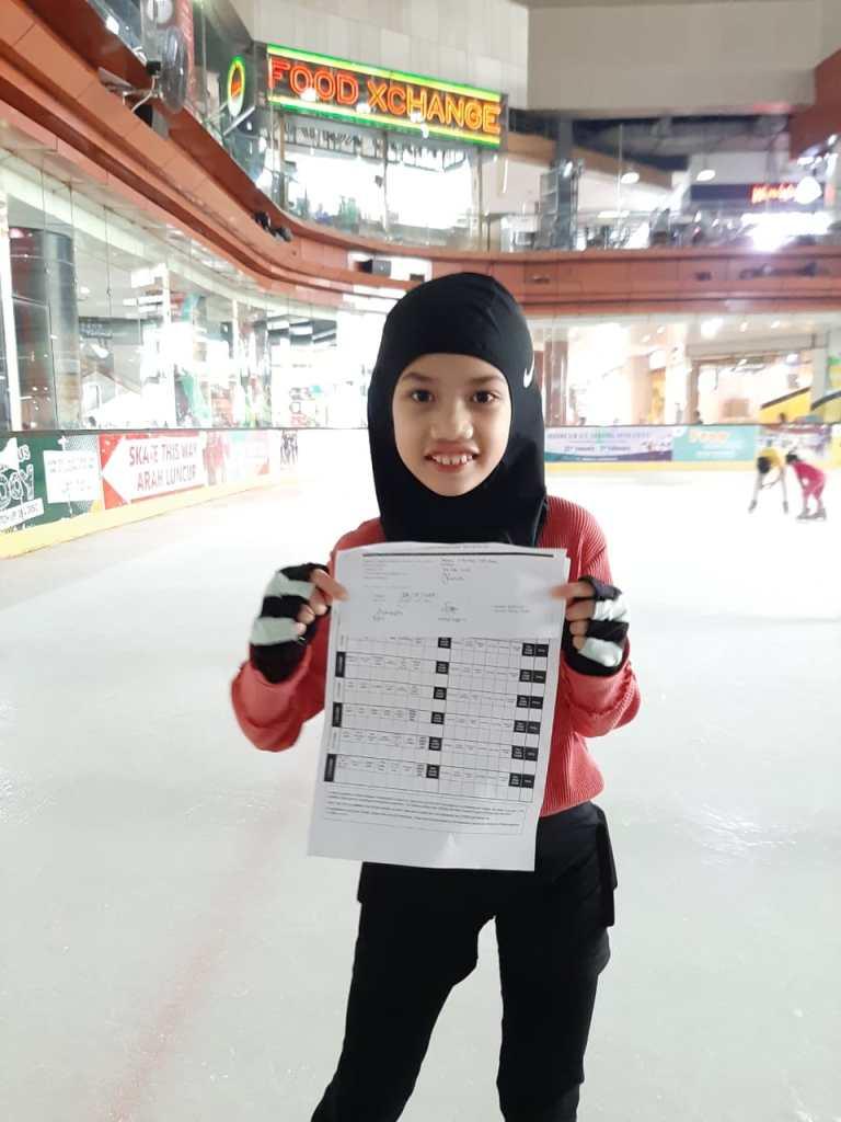 Azka Sheba Skaters BX Rink (Freestyle 1)