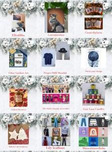 Image of online Christmas market stalls