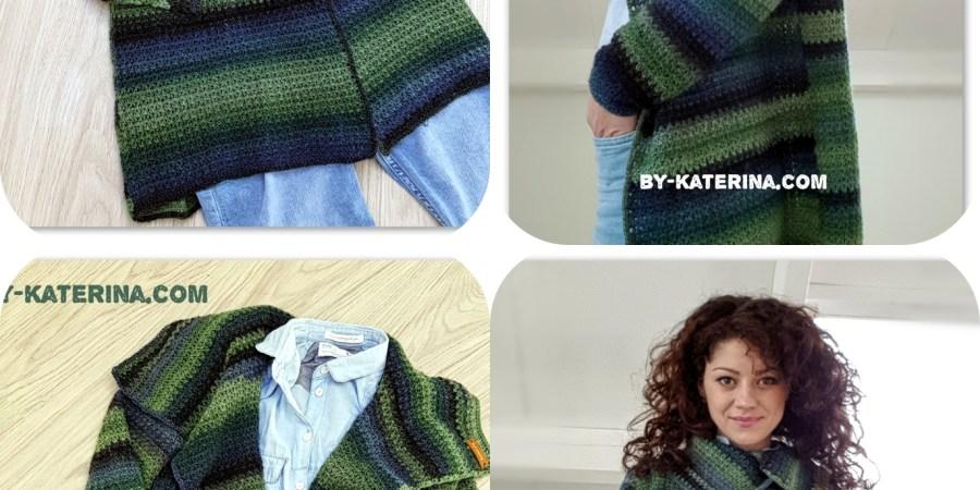 Easy To Wear Cardigan Free Crochet Pattern Bykaterina