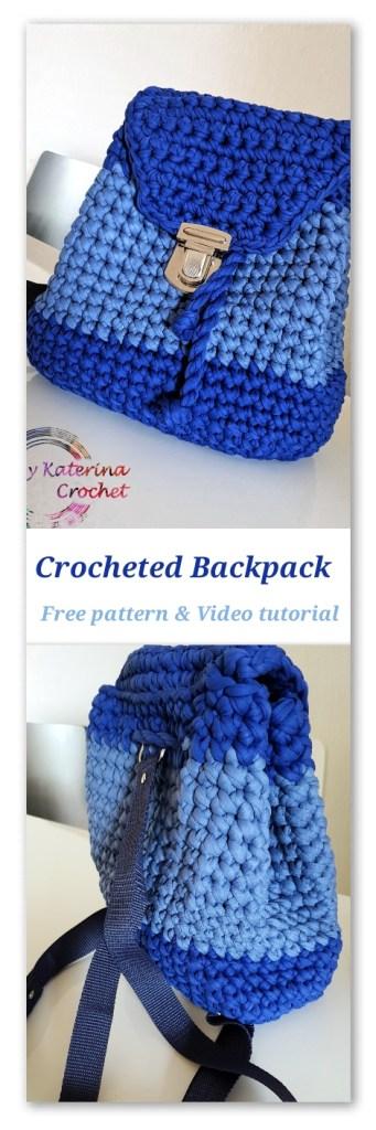 Crocheted Backpack Bykaterina
