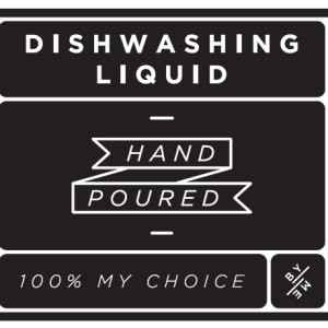 ByMe Dishwashing waterproof label