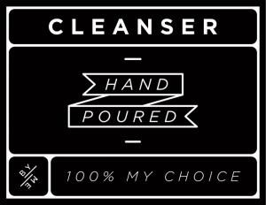 Mini Black Cleanser Decal
