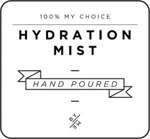 Mini White Hydration Mist Decal