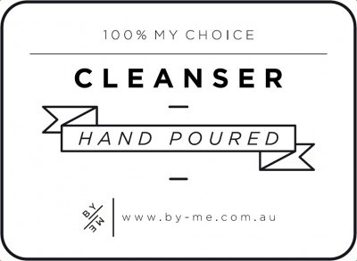 Small White Cleanser Decal