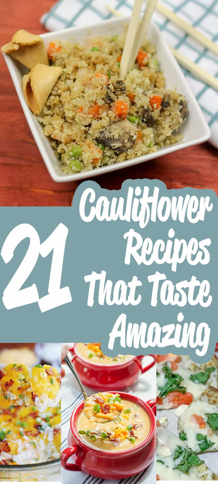 Looking for that perfect cauliflower recipes to serve up to your family or guests? I have compiled a nice list of delicious recipes all centered around cauliflower. Give these recipes a try, and enjoy the rich and savory flavors they have to offer. #healthy #mashed #cauliflower #recipes #buffalo #low #carb #lowcarb #keto