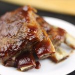 Beer Braised Instant Pot 30 Minute St. Louis Style Spare Ribs