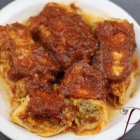 Instant Pot Italian Chicken Stuffed Cabbage Rolls