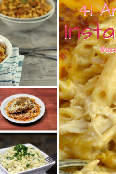 41 Amazing Instant Pot Pasta Recipes pin image