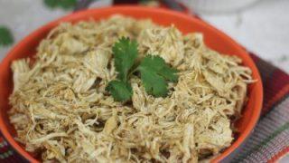Instant Pot Chili Cilantro Lime Shredded Chicken