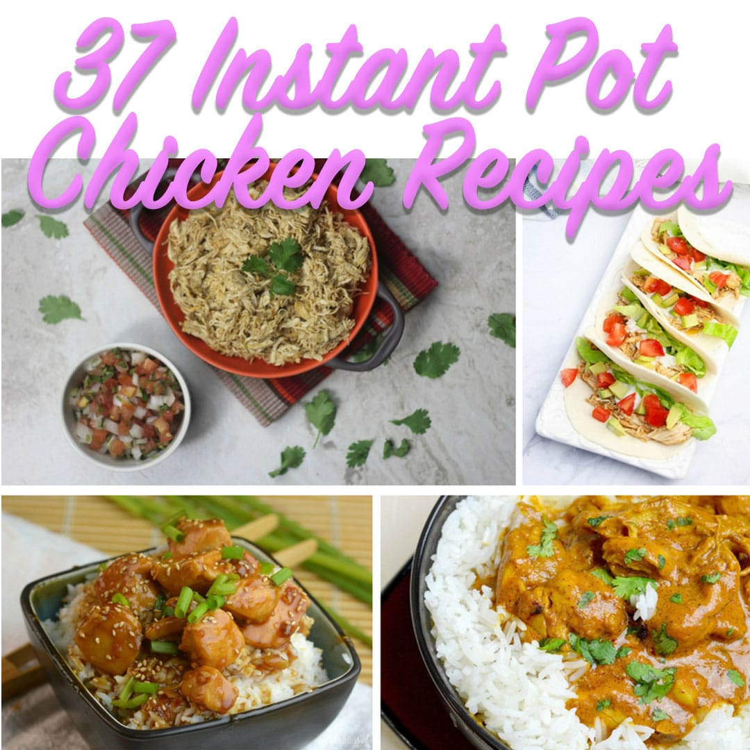 I love a good Instant Pot Chicken Recipe and something I always have on hand is chicken. #instantpot #chicken #chickenfoodrecipes ##chickenrecipes #recipes #recipeideas