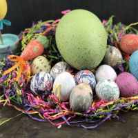 Silk Dyed Eggs In The Instant Pot