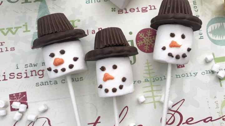 Do You Want To Build A Snowman? Marshmallow Snowman Recipe