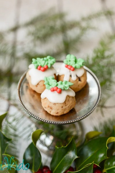 Figgy Pudding Cookies